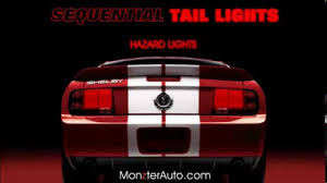 2005 2009 mustang sequential tail lights by monzter automotive you