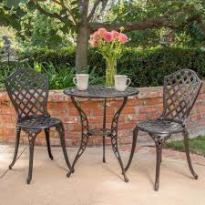cast aluminum patio dining furniture patio furniture the home depot