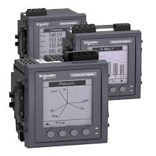 schneider powerlogic pm5100 3 phase power meter 15th thd metsepm5100