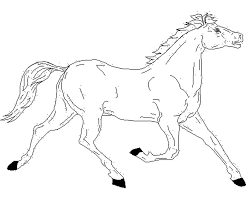 Printable Coloring Pages horse coloring pages to print for free : Print & Download - free horse coloring pages -
