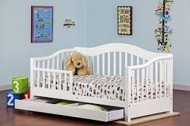 dream on me toddler bed with storage  reviews  wayfair
