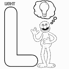 Sesame Street Coloring Page 5 11174