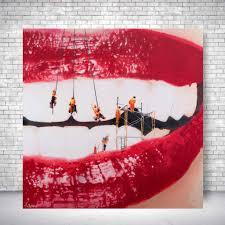spencer couture dentist office art dental work  on wall art dental office with pop art canvas print dental work spencer couture spencer