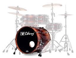 odery eyedentity 20 x 18 inch maple bubinga bass drum only explosion