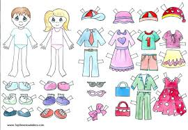 Paper Doll Cutout Templates Free Cut Out Template Shootfrank Co