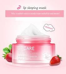Картинки по запросу Питательная ночная маска для губ BIOAQUA LIP SLEEPING MASK омолаживающий эффект с маслом Ши