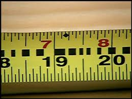 What Are The 19 3 16 Marks On A Tape Measurer For