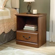 Sauder Bedroom Furniture Sauder Orchard Hills Night Stand Milled Cherry Walmartcom