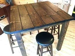 Bar Height Patio Table Diy Home Design Amazing Counter Height Bistro