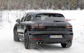 2018 porsche macan facelift. Modren 2018 2018 Porsche Macan Facelift Spied Undergoing Winter Testing For Porsche Macan Facelift N