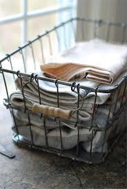 best  vintage wire baskets ideas only on pinterest  antique