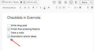 How To Create Checklists In Evernote The Quick And Easy Way
