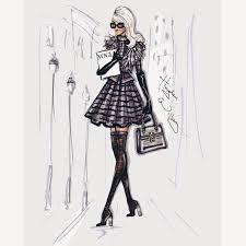 Hayden Williams Fashion Illustrations Stroll In The City Stylish