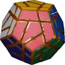 Megaminx Patterns Amazing TwistyPuzzles Museum Bandaged Megaminx 48 Colours