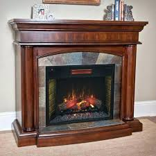 com electric fireplaces com electric fireplaces wall or corner infrared electric fireplace mantel package in espresso canada electric fireplace