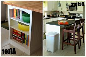 diy bookcase kitchen island. Full Size Of Kitchen Exquisite Diy Bookcase Island Before And After Large N