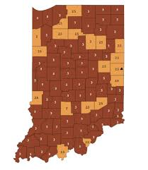 tippecanoe county moves into red on