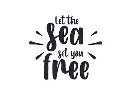 100% free, secure and easy to use! Let The Sea Set You Free Svg Cut File By Creative Fabrica Crafts Creative Fabrica