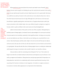Example Of A Response Essay Response Papers Examples Magdalene Project Org