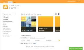 sharepoint templates 2013 sharepoint 2013 screenshot on surface tablet collaboris