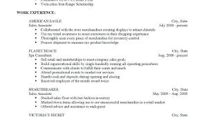 Victoria Secret Resume Sample Best Of Victoria Secret Resume Ophionco