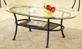 creative glass top oval coffee table 3 piece glass top oval coffee table set chasca glass top brown oval coffee table