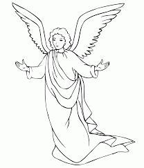 Small Picture Male Guardian Angel Coloring Page Coloring Home