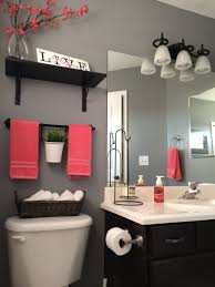 Models Apartment Bathroom Decorating Ideas Amazing Makeover Black Cabinet Throughout Concept Design