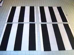dazzling black and white striped bath rug bathroom roselawnlutheran