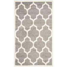 amherst dark gray beige 3 ft x 4 ft indoor outdoor area
