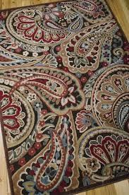 paisley area rug 8x10 rugs marvelous turquoise target spectacular design graphic illusions collection in inexpensive polypropylene