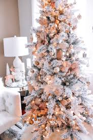Christmas Decor | Blondie in the City | Pink & Rose Gold Christmas Decor |  Hot