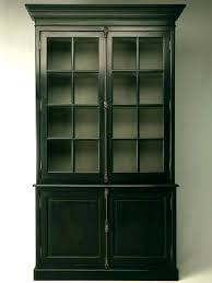 ikea billy cabinet with glass doors billy bookcase cabinet and glass front storage ikea oxberg
