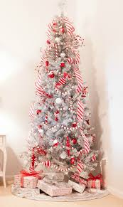 How To Decorate A Candy Cane Christmas Tree Candy Cane Christmas Tree Jesse Coulter 14