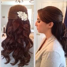 half up half down hairstyles wedding. up half down wedding hairstyles we ❤ this! moncheribridals.com. ~ moncheribridals.com r