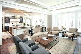 open kitchen living room floor plan. Plans: Open Concept Kitchen Living Room Floor Plans Lovely Plan A