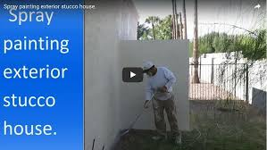 for painting stucco house