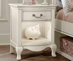 kensington white finish nightstand   ne kids furniture