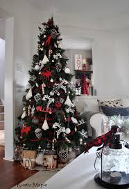 Plaid Christmas Tree Christmas Design Elegant Christmas Living Room Ideas Bercudesign