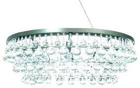 glass teardrop chandelier dark antique bronze drop crystal round parts g