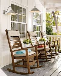 wooden rocking chairs for front porch. Simple Chairs Porch Decorating Ideas Wooden Rocking Chairs Are Perfect For Visiting With  The Neighbors On Front Porch Inside Rocking Chairs For Front