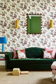 how to decorate with velvet house