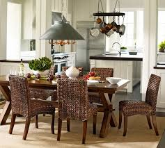 best rattan kitchen furniture charming wicker kitchen sets awesome open dining room design ideas