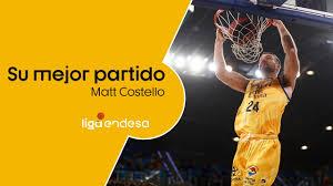 Matt COSTELLO y su mejor partido I Liga Endesa 2019-20 - YouTube