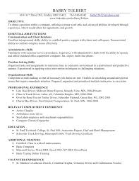 examples of skills to put on a resume