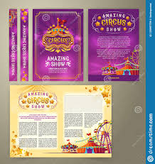 Como Hacer Flayers Circus Flyer Banner Stock Illustration Illustration Of