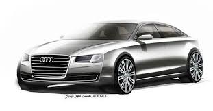 new luxury car releases 20142014 Audi A8 design sketches released ahead of Frankfurt debut