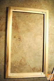 diy cabinet doors shaker cost making style mdf