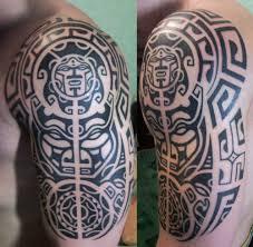 фото тату симметричный узор маори татуировки и эскизы