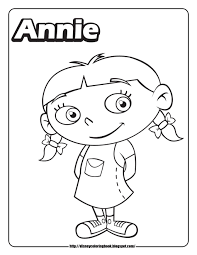12 Printable Pictures Of Little Einsteins Page Throughout Little ...